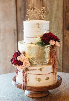 Pretty wedding cake inspiration #weddingcake #weddingideas #weddingcakeinspiration