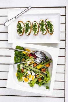 Piękna porcelana MONACO marki AMBITION Ambition, Monaco, Green Beans, Vegetables, Food, Porcelain Ceramics, Essen, Vegetable Recipes, Meals