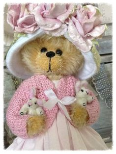 Carnation by By shaz Bears | Bear Pile