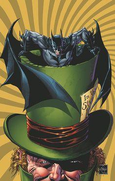 Batman: The Dark Knight #16 cover art
