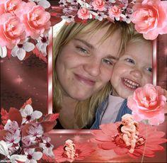 dochter en klein kind