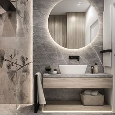 66 My Bathroom Renovation Revealed Ideas « housemoes Bathroom Design Luxury, Modern Bathroom Design, Modern Luxury Bathroom, Remodeling Costs, Bathroom Design Inspiration, Master Bathroom, Home, Backlit Mirror, Bathroom Remodeling
