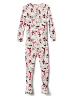 cb83ba783eed8 Gap Baby Bear Footed One-Piece New Off White Girl Dolls, American Girl,