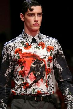 Spanish Influence of Sicily in Dolce & Gabbana Spring/Summer 2015 Menswear