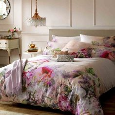 Ted Baker Pure Peony double duvet cover £85 ashleywildegroup.com Fashion designer Ted Baker has moved into bedlinen with a capsule range of gorgeous designs taken from his clothing range