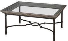 Uttermost Huxley Antique Crackled Fir Wood Coffee Table - traditional - Coffee Tables - StudioLX