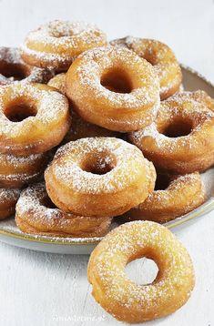 Oponki serowe, 1 Cake Hacks, Pain, Doughnut, Sweet Recipes, Donuts, Cookie Recipes, Vegetarian Recipes, Sweet Tooth, Sweets