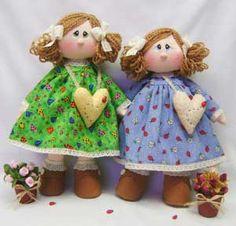 molde e passo a passo http://www.guioteca.com/manualidades-y-artesania/munecas-de-trapo-ternura-hecha-con-las-manos/