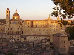 The Palazzo Ducale -- Urbino, Italy.. I dream about this place everyday.. so much love! one day I will be back there!