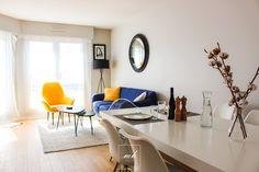 Un salon séjour contemporain à Suresnes (92), par Eva Ivo, notre architecte d'intérieur basée à Juvisy-sur-Orge