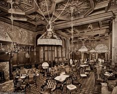 The Waldorf Astoria was the result of the Waldorf Hotel and the Astoria Hotel merging in Astoria New York, Astoria Hotel, Greek Bedroom, Hilton Worldwide, Most Luxurious Hotels, Waldorf Astoria, Make Way, Vintage Interiors, Grand Entrance