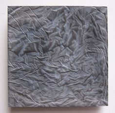 Picture of Cast concrete with fabric texture