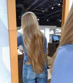 Blonde Hair Looks, Brown Blonde Hair, Beautiful Long Hair, Gorgeous Hair, Cut My Hair, Hair Cuts, Rapunzel Hair, Pelo Natural, Pinterest Hair