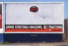 Adidas Streetball Challenge, Art Director; Dave Dye, Writer; Tony Barry