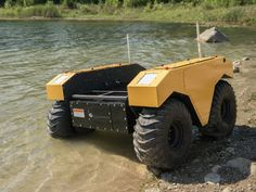 Clearpath Robotics and ARGO XTR partner on amphibious Warthog robot  #Robotics #Warthogrobot #Robots #Technology #Tech