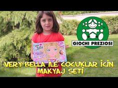 VERY BELLA MAKE-UP SET I Çocuklara Özel Oyuncak Makyaj Seti Harika - YouTube