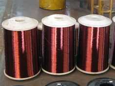 Bare copper wires offer excellent durability and ductility. They can be drawn into thinner diameters as well as flattened into sheet and films.