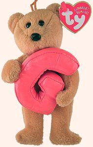 G - Alphabet Bear - Beanie Babies