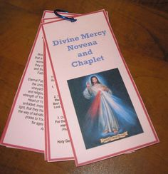 The Diary of a Sower: Divine Mercy Novena and Chaplet
