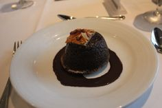 Warm Chocolate Cake on Oasis of the Seas http://www.premiercustomtravel.com/cruises/royalcaribbean.html #Cruising #Travel #Food #Dessert #OasisoftheSeas #Oasis #RoyalCaribbean