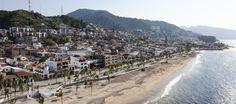 One of the most beautiful ocean front boardwalks in the world is in Puerto Vallarta.
