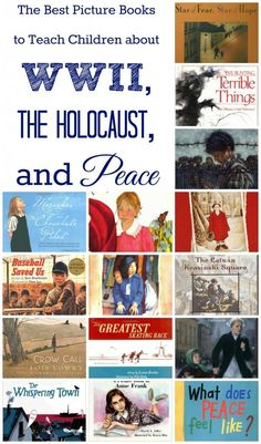 Such a hard subject to teach- post with book suggestions and how one family used them to teach about the Holocaust conversationally. Teaching Social Studies, Teaching History, Teaching Kids, Teaching American History, Study History, History Books, Women's History, British History, Ancient History