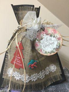 Wish You Merry Christmas, Burlap, Reusable Tote Bags, Bag Packaging, Hessian Fabric, Jute, Canvas