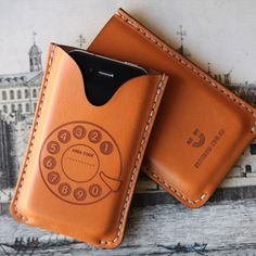 Charming leather iPhone case from bRainbow