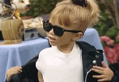 New trending GIF tagged baby swag cool sunglasses michelle...