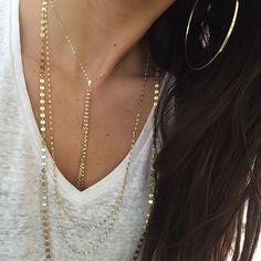 Lana Jewelry Nude Blake Layer Necklace n3hda1s
