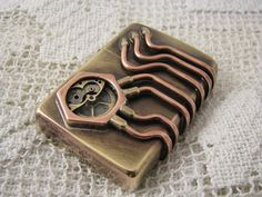 Steampunk modified Zippo windproof lighter Made by steamworkshop, $149.00