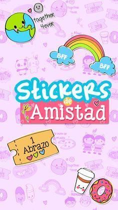 Stickers descargables de amistad