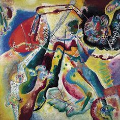 La tâche rouge, par Wassily Kandinsky Infos tableau Huile sur toile 130 x 130 cm 1914 Centre Georges Pompidou, Paris, France