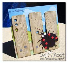 Cute ladybug card