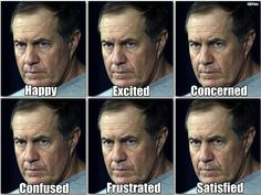 Coach Bill Belichick..LOL!!
