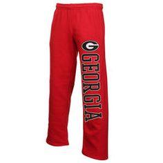 Mens Georgia Bulldogs Red Dream Fleece Pants