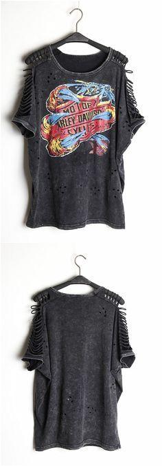 Mulheres Desigual de Punk Rock Tops Camisetas roupas femininas camisas mujer mulheres roupas em Camisetas de Roupas e Acessórios no AliExpress.com | Alibaba Group