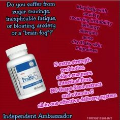 Brain fog? Sugar cravings? ProBio5 can help!  KCSmith.myplexusproducts.com #335588