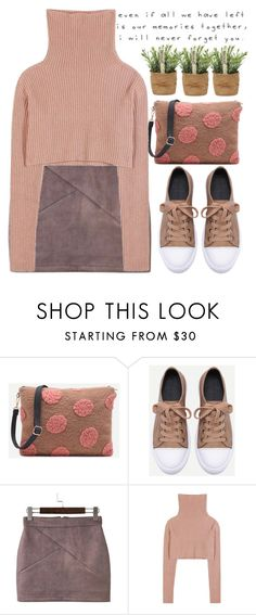 """""""Pink polka dots!"""" by amilla-top ❤ liked on Polyvore featuring Valentino and Love Quotes Scarves"""