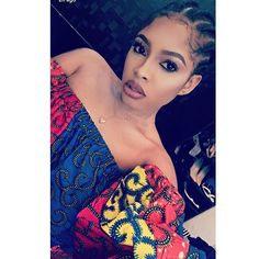 Top 100 african braids photos African babie @bugzy____ out here slaying silly in our off shoulder top #arewadoll #africanbraids #arewafabrics See more http://wumann.com/top-100-african-braids-photos/