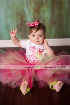 Birthday Tutu Margo HOOTS 1st 2nd Birthday Girl by HannahsTutus, $20.00