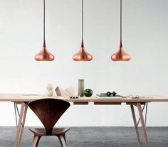 Koperen Orient hanglampen van het Deense Lightyears