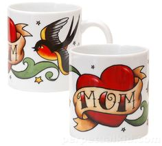 TATTOO MUG - MOM..... Site also has a dad one, and lots of great Star Wars things...