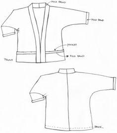 Sew Tessuti   The Tokyo Jacket Pattern