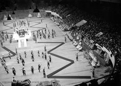Olympia Stadium - Old photos gallery — Historic Detroit Olympia Stadium, Tiger Stadium, Wayne State University, Joe Louis, Basketball Photos, Detroit Free Press, Detroit News, Hockey Games, Political Events