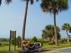 Fitness Trail at Ocean Forest Villas