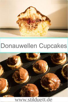 Leckere Donauwellen Muffins zum selber backen. Super lecker und schnell zu backen.