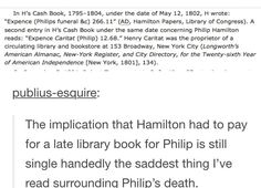 😦 i can't believe poor alexander had to go and pay for his dead son's late fee at a frickin library Hamilton Lin Manuel Miranda, Aaron Burr, Hamilton Musical, Bubbline, What Is Your Name, Dear Evan Hansen, Alexander Hamilton, Founding Fathers, Musical Theatre