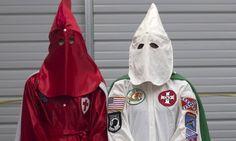 Ku Klux Klan Members Drive Through North Carolina Town To Hail Trump Victory   The Huffington Post