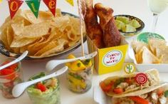 Easy, Casual Cinco de Mayo Dinner Party Recipes and Ideas from Celebrations.com
